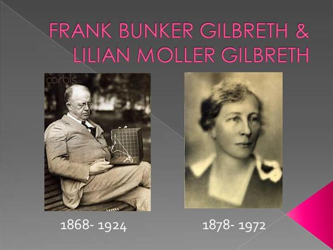 frank and lillian gilbreth management theory pdf