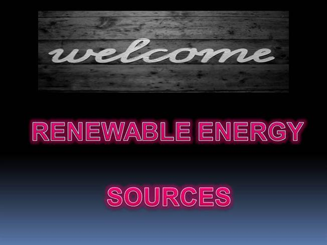 paper presentation on renewable sources A new wave of technologies is on the verge of producing energy that's clean,  renewable, and most importantly, affordable  wolverine research isn't pretty  03:24 see how paper is still being made by hand today short film showcase.