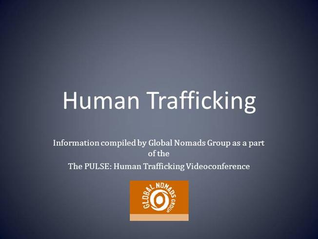 essay on human trafficking and globalization