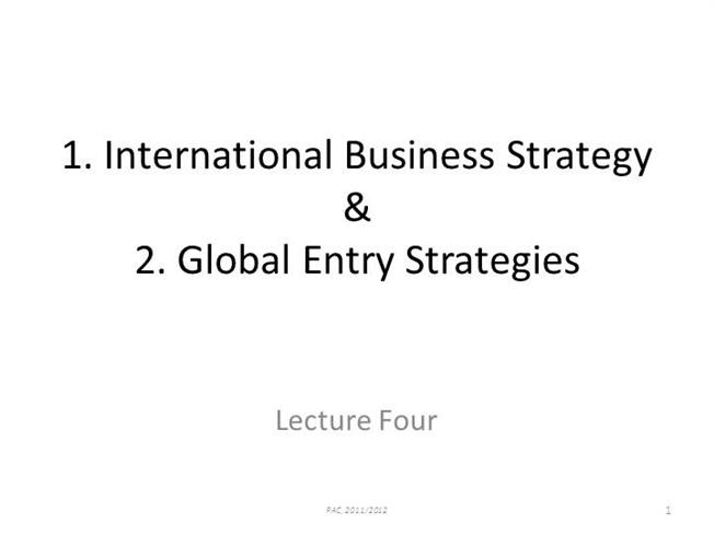 global biz strategy Globalbiz: aug 15, 2010 2:28 pm: posted in group: blueocean313: absolutely each venture they dream up should go through the four   become a blue ocean strategy.