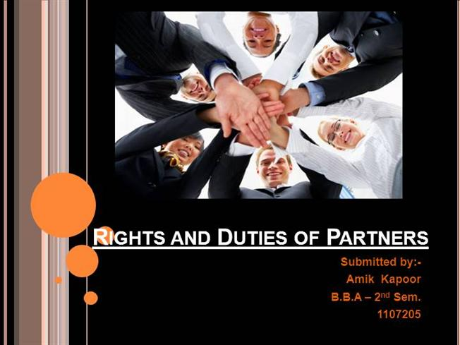 rights and responsibilities of dating partners If you are married or in a registered partnership, you automatically get parental responsibility for your children where responsibility is shared between a parent and a non-parent, the presence of the child's other parent is a factor the options are: parental responsibility (exercised by one or two parents), joint responsibility.