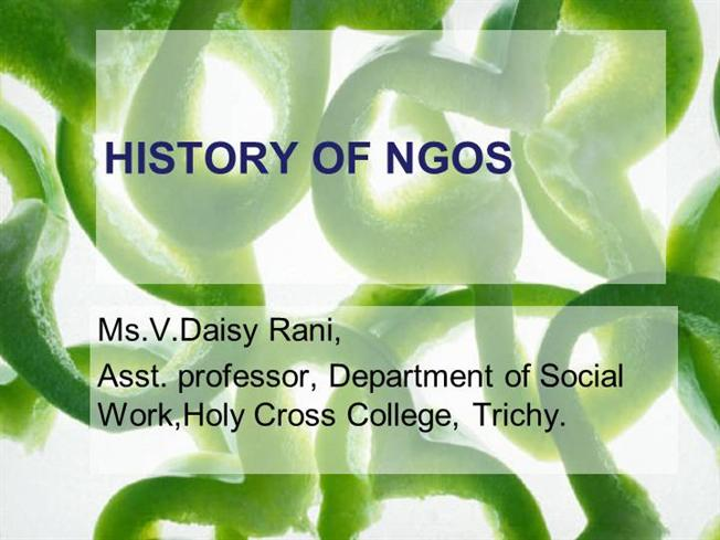 history of ngo Disparity: respect the ngo contribution to addressing access to, and health and   the history of the non-profit sector in new zealand2 that history identifies.