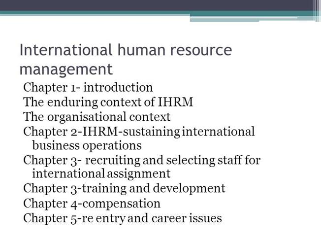 human resource management in the global Global human resource management incorporates all vital hr software solutions to be implemented across multiple countries ultimate software reviews global hrm definitions and resources.