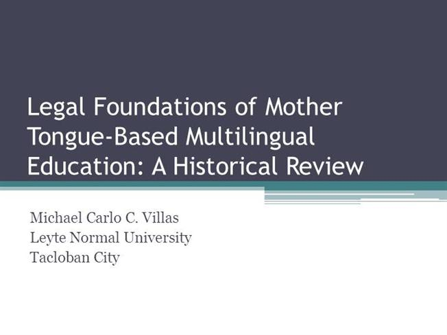 education mother tongue essay
