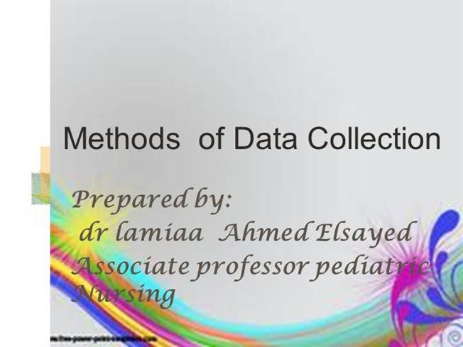 methods of data collection essay Data collection is the process of gathering and measuring information on targeted variables in an established system, which then enables one to answer relevant.
