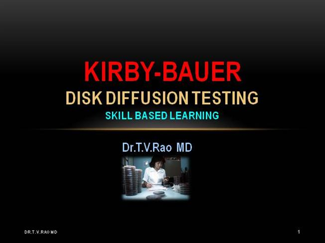 kirby-bauer disk diffusion susceptibility test protocol pdf