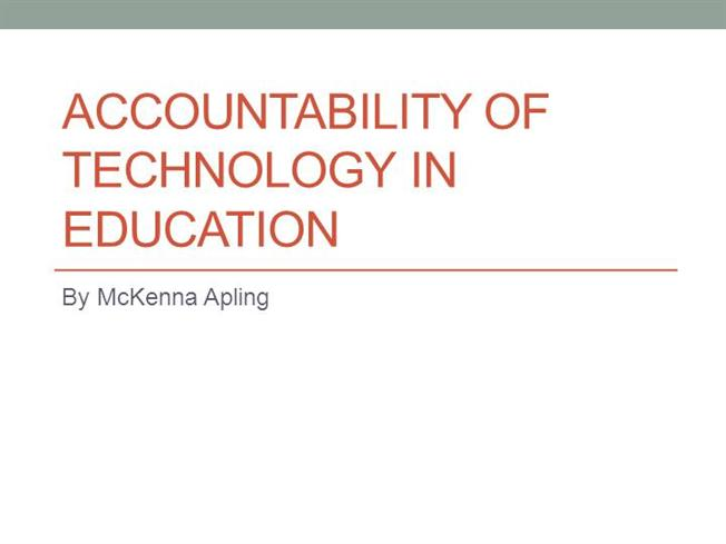 accountability in education States are shifting away from a one-size-fits-all accountability system mandated under the old education law to a new, build-it-yourself model.