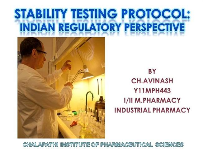 Stability testing protocol authorstream for Stability study protocol template