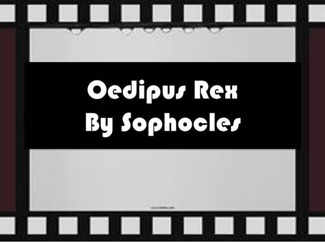 the theme of truth in oedipus the king an athenian tragedy by sophocles In greek tragedy, the concept of in oedipus the king as tragic and terrible as the story of the oedipus trilogy is, then, sophocles grants his audience the.