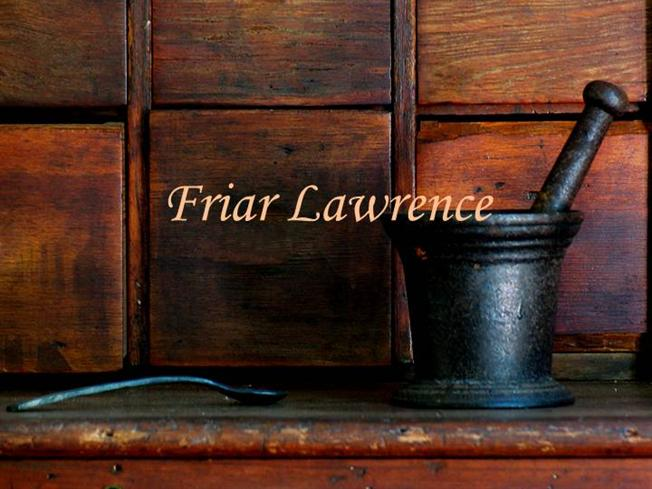 is friar lawrence to blame essay Youth and age should friar lawrence and the nurse have been more careful about the way they encouraged romeo and juliet's love to what extent does shakespeare.