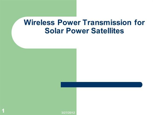 wifreless power transmission essay Open document below is an essay on wireless power transmission from anti essays, your source for research papers, essays, and term paper examples.