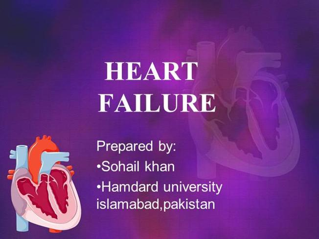 thesis statement on congestive heart failure