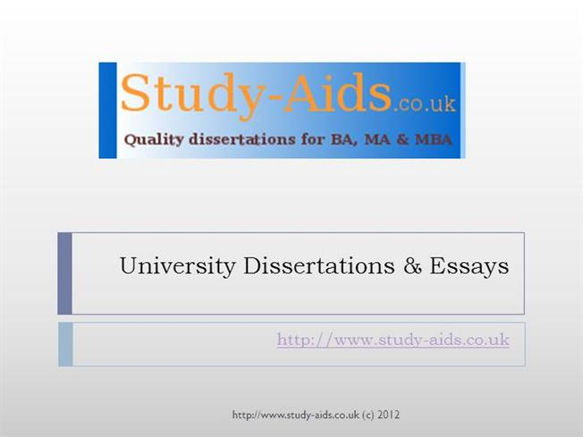Dissertation Descriptive Study