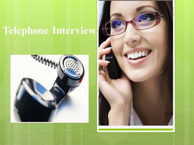 telephonic interview authorstream