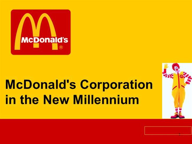 mcdonald's corporation in the new millennium Read this business case study and over 88,000 other research documents mc donalds case analysis bryson frazier mcdonald's corp bus 453 mc donald's corporation during the late 1990's and the beginning of the new millennium.