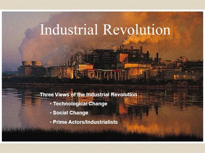 technology in the industrial revolution essay