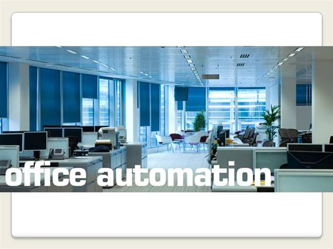 office automation Office automation is how technology works with data through systems set up within a business this lesson provides a detailed definition of.