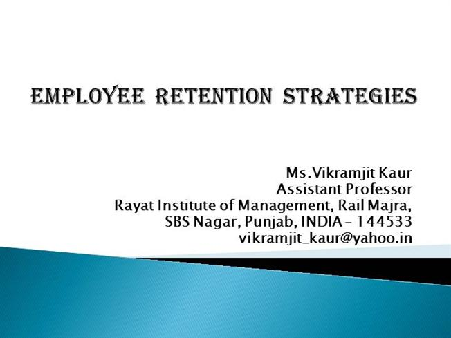 emloyee retention techniques at indian railway