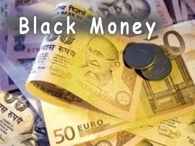 essay on corruption and black money in india