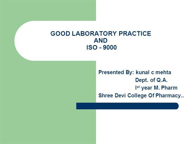 good laboratory practice Good clinical laboratory practices (gclp) should be used by all laboratories where tests are done on biological specimens for diagnosis, patient care, disease control and research.