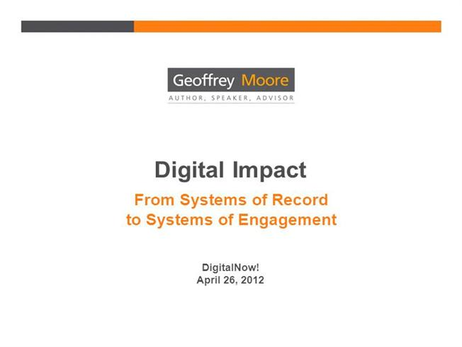 geoffrey moore systems of engagement pdf
