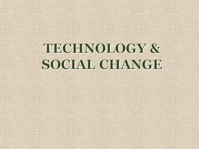 technology and social change The technology & social change group at the university of washington information school explores the design, use, and effects of information and communication technologies in communities facing social and economic challenges.