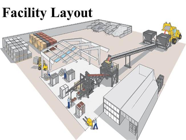 36899615 facility layout authorstream for Free warehouse layout design software