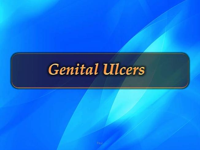 Genital Ulcers In Sti