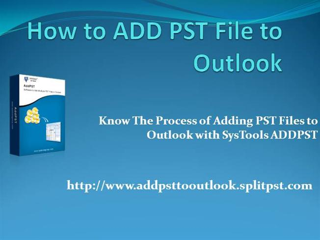 PST Recovery Advanced Outlook PST Repair Software