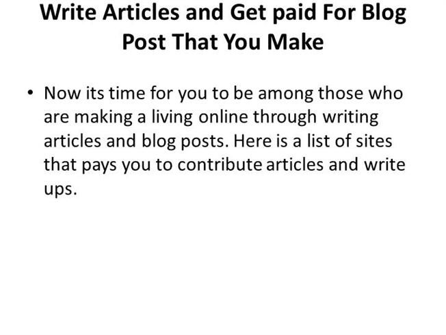Write my write articles online and get paid