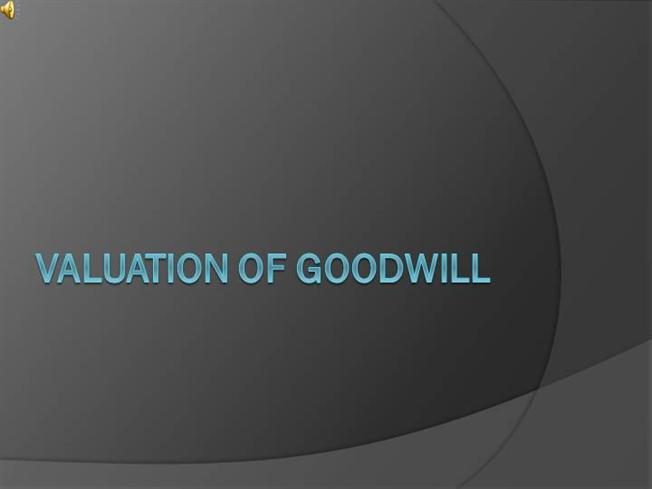valuation of goodwill Valuation drivers in the telecommunications industry - purchase price allocation ppa methodologies valuation drivers in the telecommunications  goodwill components.