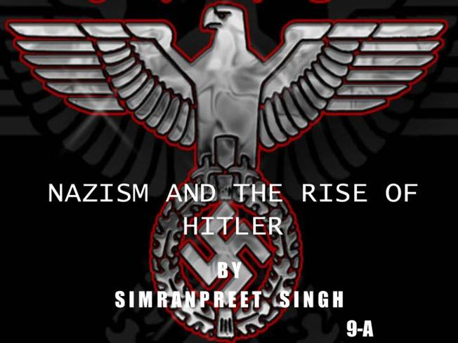 the rise of hitler and nazism Adolf hitler - rise to power: discharged from the hospital amid the social chaos that followed germany's defeat, hitler took up political work in munich in may–june 1919.