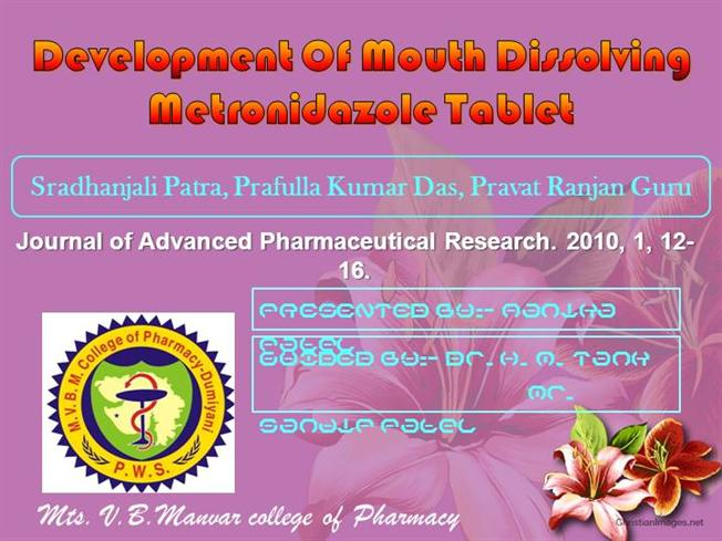 metronidazole mechanism of action ppt $$ Best Online Pharmacy Reviews.   metronidazole mechanism of action ppt - Best Deal and Ultimate Quality   Warranted