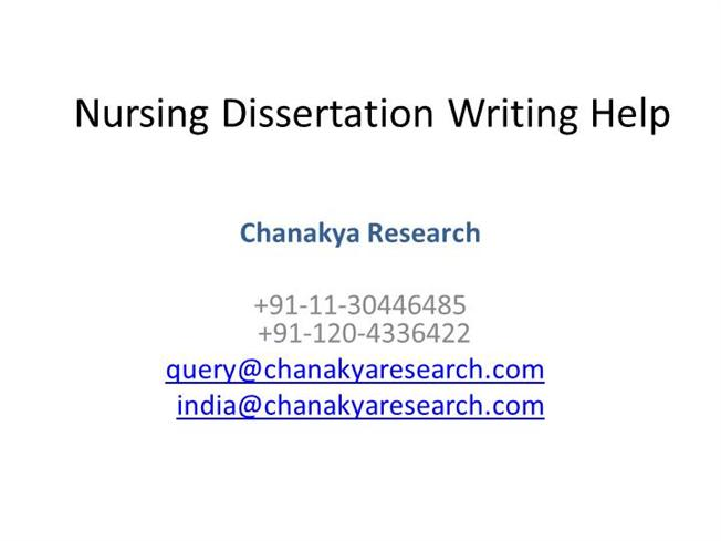 Nursing sub-branches and related dissertation ideas