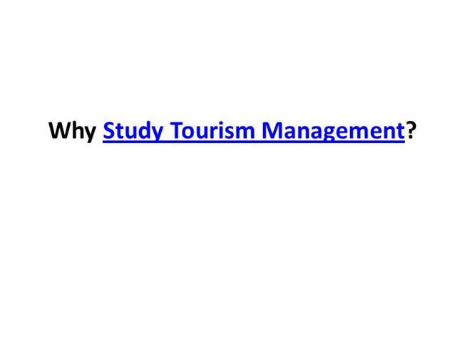 Study Tourism & Hospitality abroad - Find & compare degrees