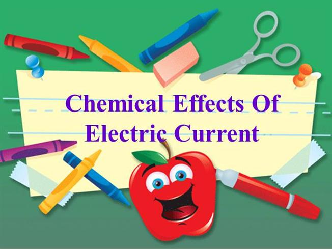 chemical effects of electric current essay Important questions - chemical effects of electric current | edurev important questions - chemical effects of electric current chemical effects of electric current.