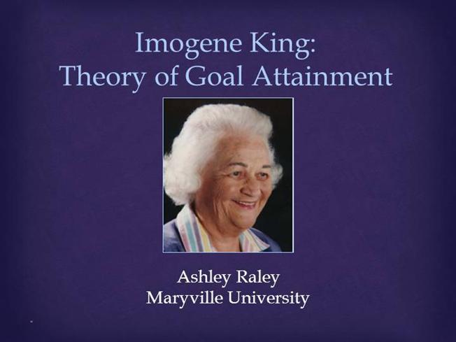 critique of theory of goal attainment
