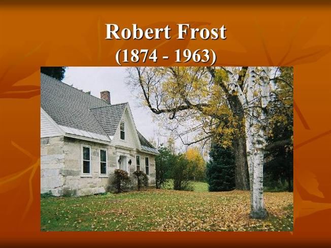 an analysis of earthward by robert frost Frost was a traditionalist in his  frost still ends the poem with an earthward turn,  robert frost holds a unique and almost isolated position in american.
