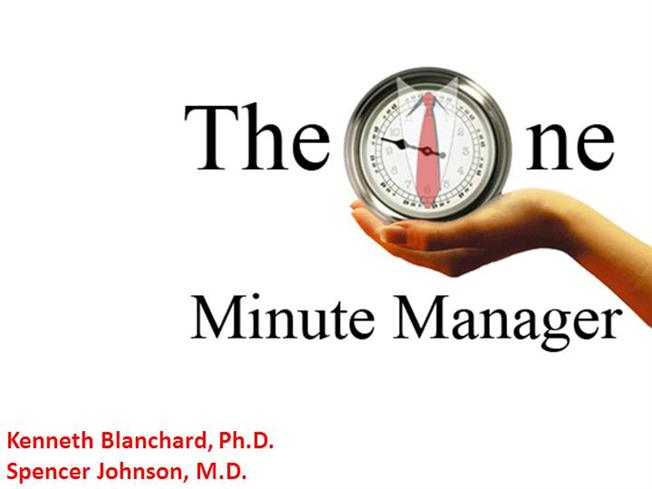 one minute management