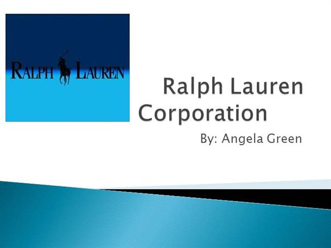 memordaum ralph lauren corporation Find contact details, financial data & competitor research for ralph lauren corporation search d&b hoovers for information on 85 million companies.