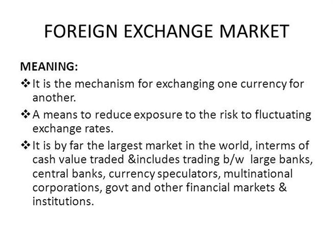 Definition of forex