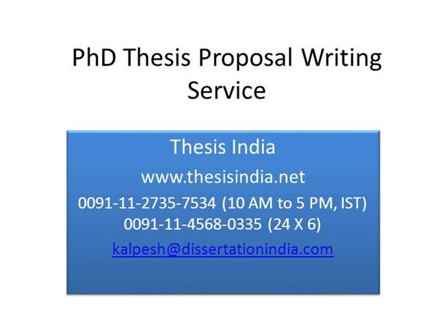 thesis proposal presentation powerpoint 4119