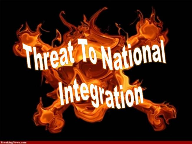 threats to national integration Created date: 2/21/2008 11:08:20 am.