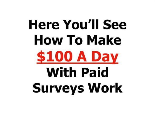 Make Money With Online Paid Surveys Work! |authorSTREAM