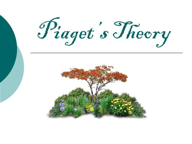 piaget theory of cognitive development and its educational implications pdf