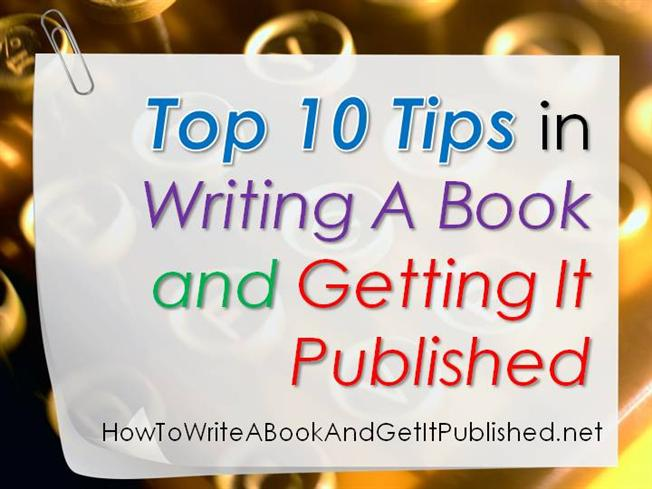tips for writing a book series
