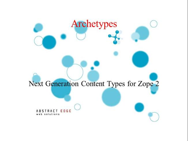 ARCHETYPES - PowerPoint PPT Presentation