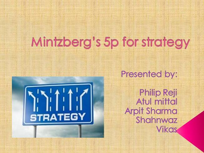 "mintzberg 5p strategy From the case above answer the following question: a explain the mintzberg's 5p strategy for ""indian tourister"" (5 marks) b  explain the mintzbergs 5p strategy for indian tourister published on march  q3 from the case above answer the following question: a explain the mintzberg's 5p strategy for ""indian tourister"" (5."