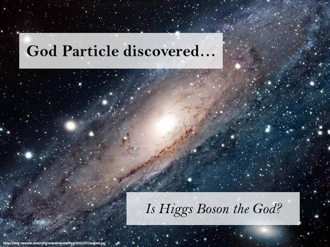 god particle discovered
