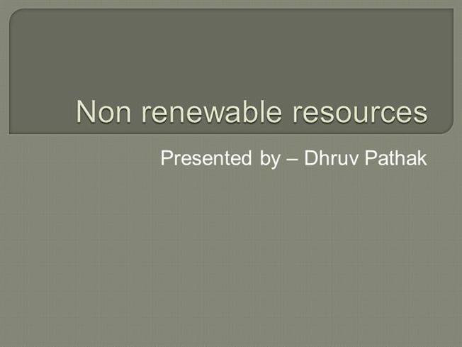 essay on non renewable resources Renewable resources renewable resources are those resources that can be replaced as they are used up soil,air,wood,sunlight, water, forests, plants and animals are all renewable resources as long as they are properly conserved.
